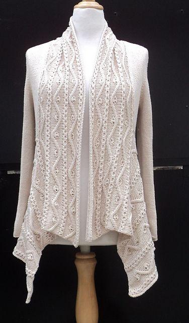 Ravelry: Gilet Yolande pattern by Carole Francone