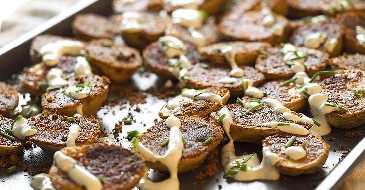 Crispy Parmesan Sheet Potatoes