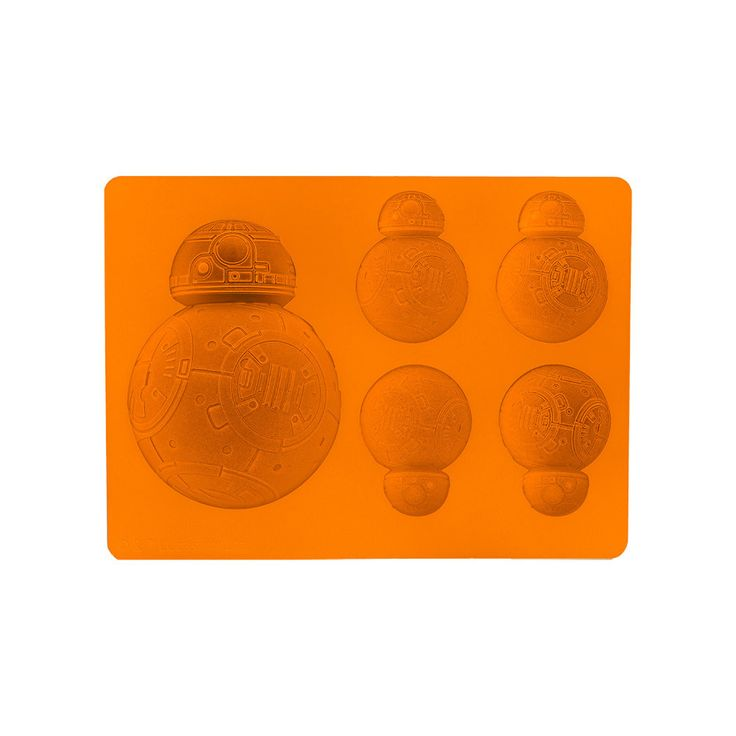 Wishing you had some fun ice? Want something cute for some unique baking? Tokyo Otaku Mode has got your back! Don't miss your chance to get your hands on one of these super cute orange silicone ice trays! They feature five molds capturing (in high detail!) BB-8 of the Star Wars franchise!! This item is made of silicone, so it's heat resistant up to 230℃ and also perfect for ice cubes, so you can h... #tokyootakumode #homekitchen #Star_Wars