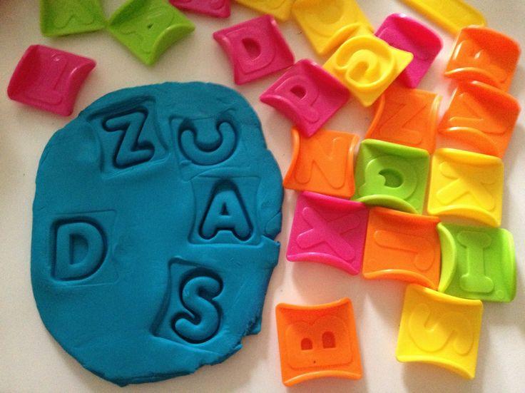 Fine Motor Skills & Play-doh Literacy