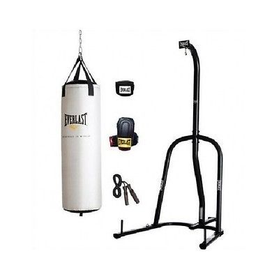 Punching Bag Kit MMA Training Gear Equipment Heavy Boxing Stand Speed Gloves NEW