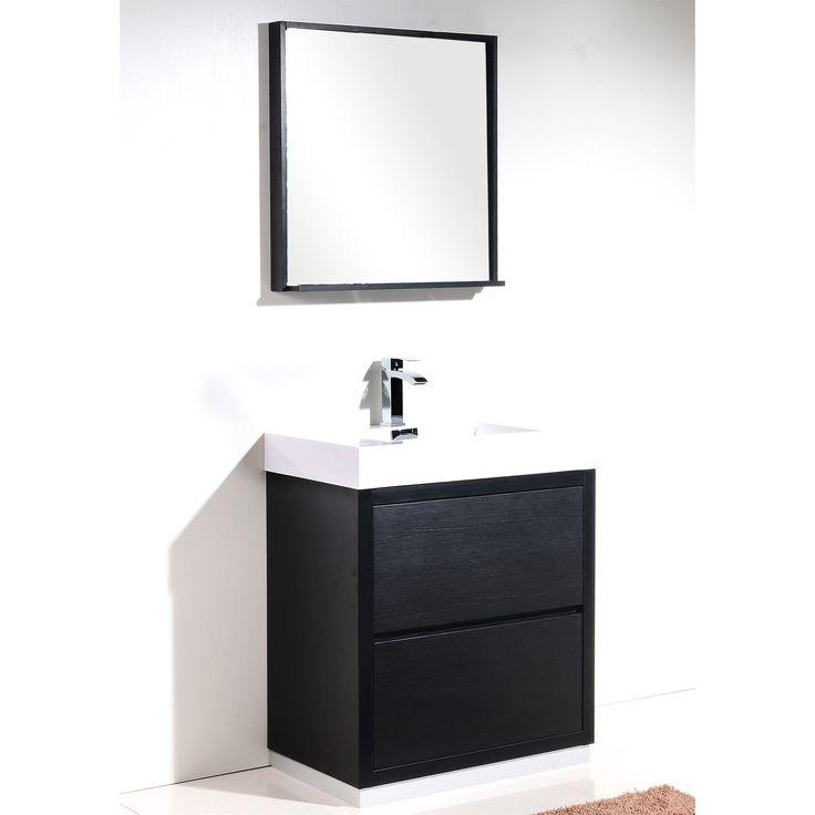 Kube Bath KubeBath Bliss 30 inch Single sink Bathroom Vanity  Black Wood. 78  ideas about 30 Inch Bathroom Vanity on Pinterest   30 inch