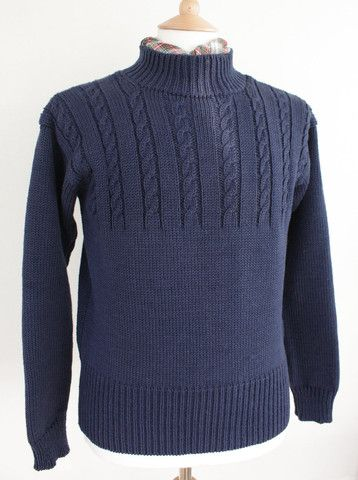 Fame Knit Fishermans Sweaters by Wayside Flower Hand made ...