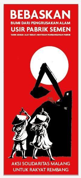 Solidaritas malang untuk Rembang