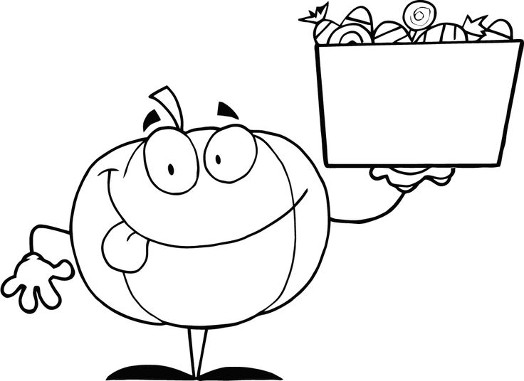 curious george pumpkin coloring pages - photo#21