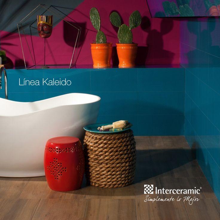 Baños Modernos Interceramic: tu baño con nuestros pisos y azulejos!