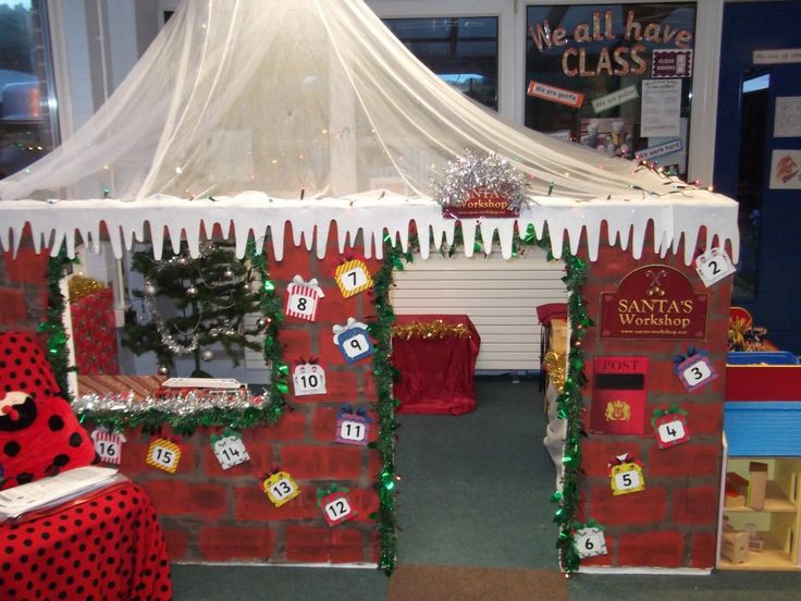 Would love to make Santa's workshop in my classroom!