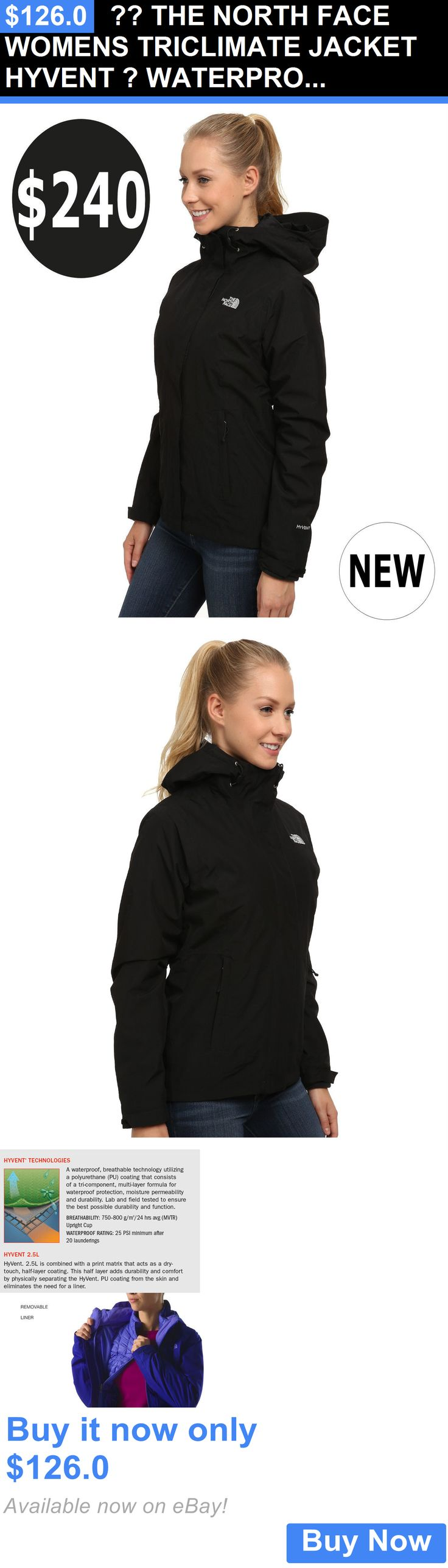 Women Fashion: ?? The North Face Womens Triclimate Jacket Hyvent ? Waterproof S,M,L,Xl,Xxl $240 BUY IT NOW ONLY: $126.0