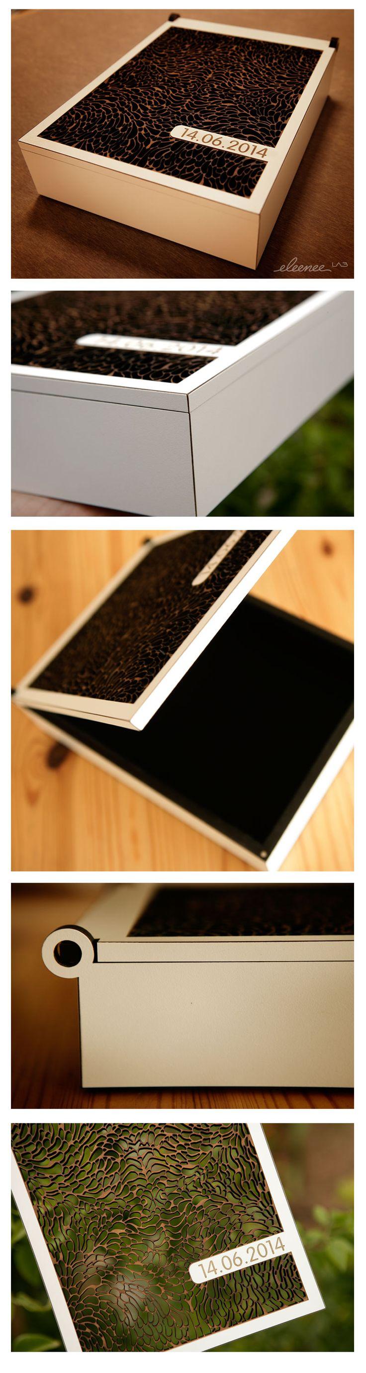 Beautiful box for wedding gift.