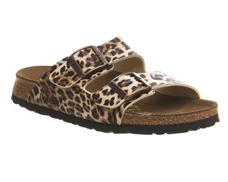 112312c0078 Birkenstock Arizona Two Strap Leopard Exclusive - Sandals