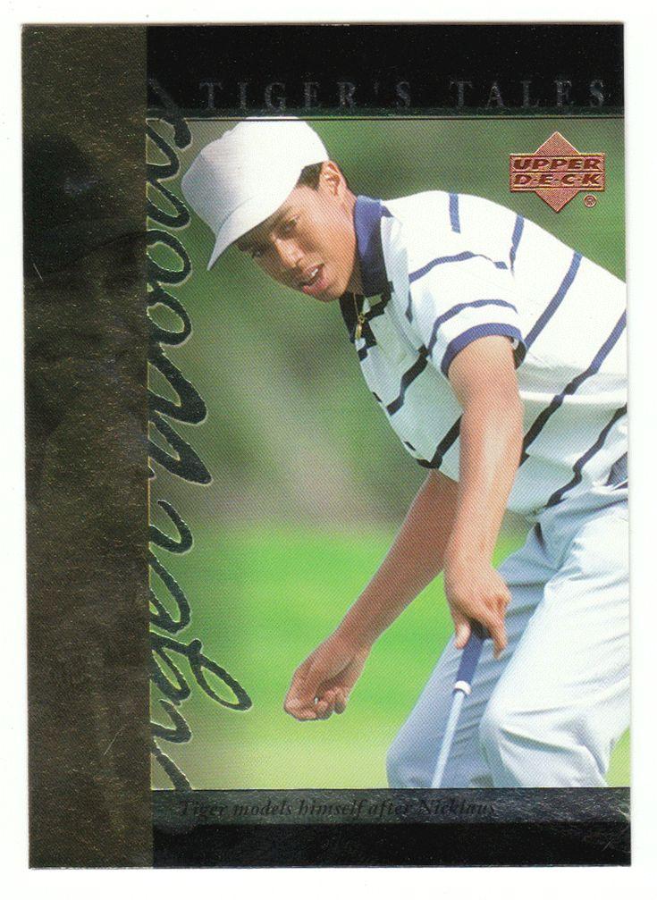 Tiger Woods # TT-2 - 2001 Upper Deck Golf Tiger's Tales