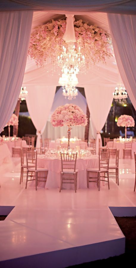 Stunning Pink Wedding Recpetoin Decor!  Pink Wedding   Pink Bridal Earrings   Pink Wedding Jewelry   Spring wedding   Spring inspo   Pink   Light   Silver   Spring wedding ideas   Spring wedding inspo   Spring wedding mood board   Spring wedding flowers   Spring wedding formal   Spring wedding outdoors   Inspirational   Beautiful   Decor   Makeup    Bride   Color Scheme   Tree   Flowers   Wedding Table   Decor   Inspiration   Great View   Picture Perfect   Cute   Candles   Table Centerpiece…