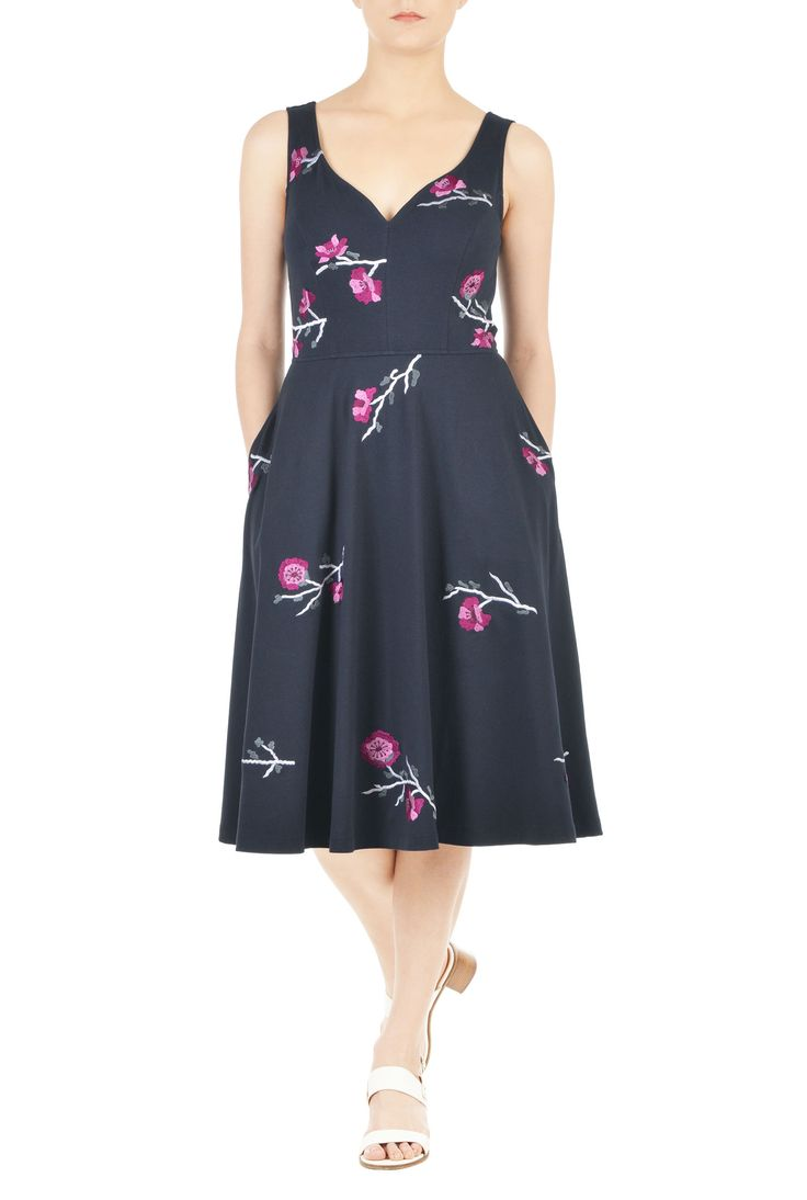 Galerry sweetheart flared dress by glamorous petites