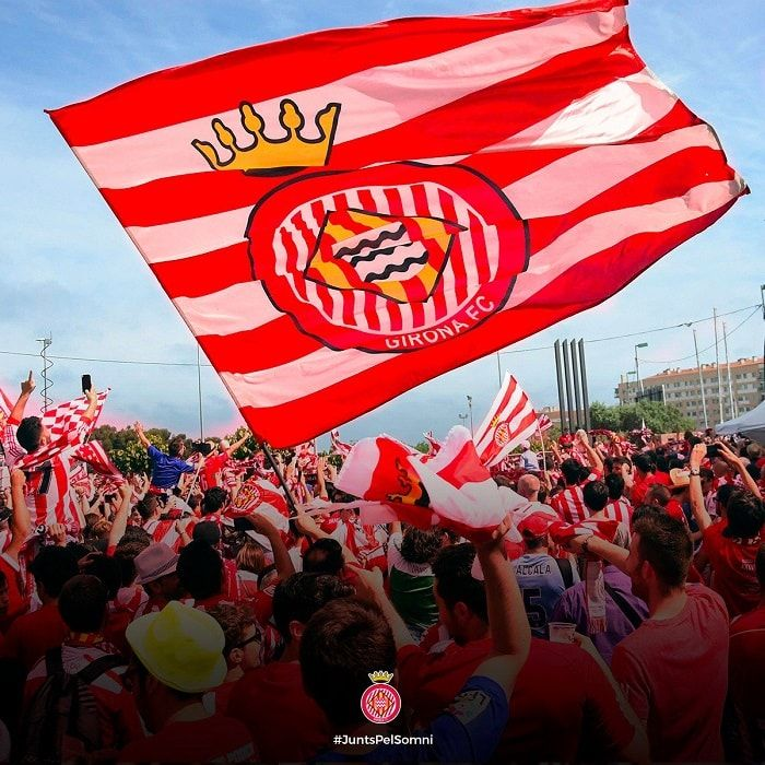 Image result for Girona FC  fans