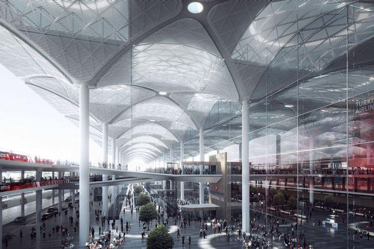 Istanbul : le chantier du plus grand aéroport