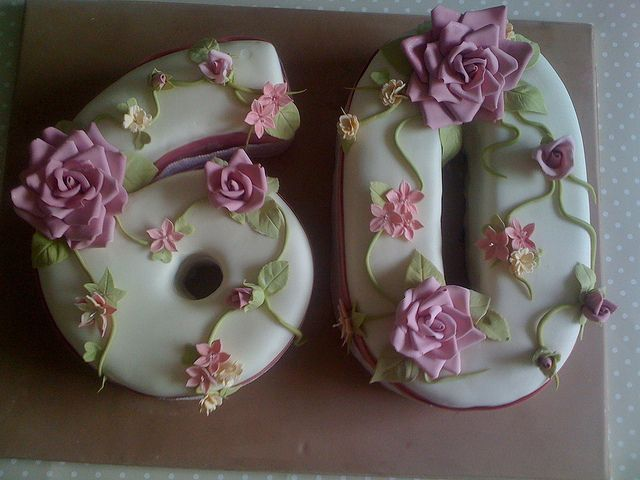 60th birthday cakes for females - Google Search