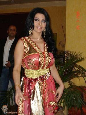 Haifa Wahbi in Caftan