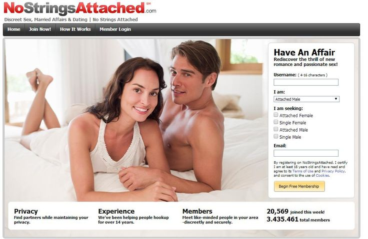 NoStringsAttached on http://www.DatingSiteReviews24.com - Best Dating Site Reviews Online