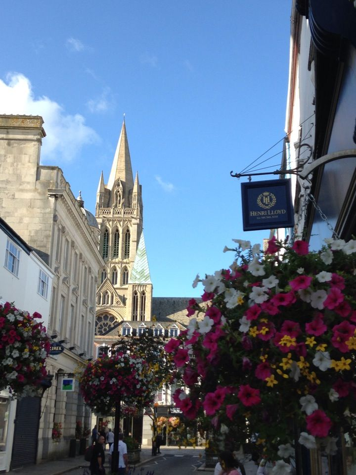 The Cathedral City of Truro with fabulous bars, restaurants, shops and river.