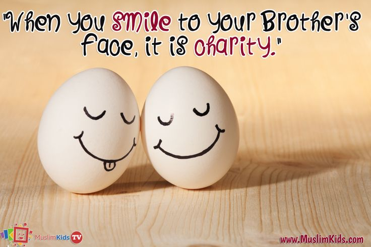 Smile It is Sunnah :)
