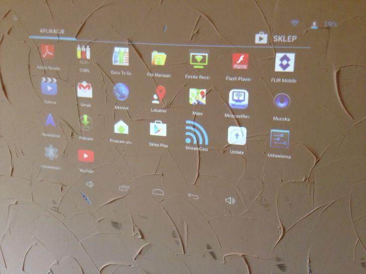 Projektor pico KP100 DLPTexasInstruments z Android (5572457374) - Allegro.pl - Więcej niż aukcje.