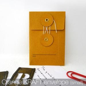 Small KRAFT Envelope with String (Orange): Idea, Paper, Kraft Envelopes, Small Envelope, Small String, Products