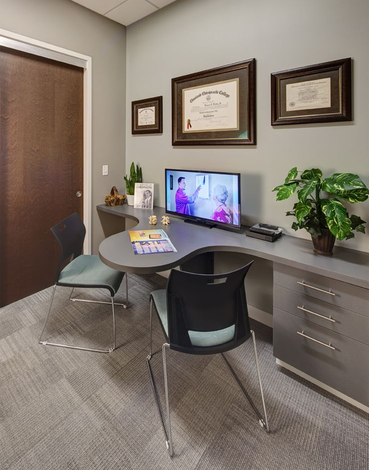 Fisher Family Chiropractic - Chiropractic Office Design