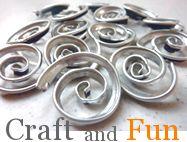Riciclo Creativo - Craft and Fun: Riciclo Creativo Bottiglie: Tutorial Collane