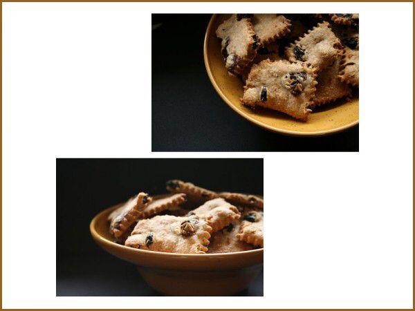 Biscotti senza zucchero con uvetta e farina integrale http://www.cucinasemplicemente.it/biscotti-senza-zucchero/
