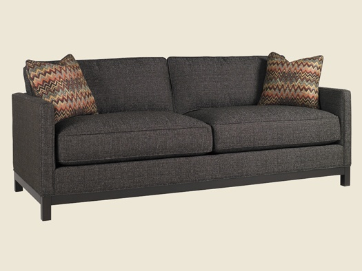 Modern Furniture Upholstery lexington upholstery becks modern sofa - lexington home brands