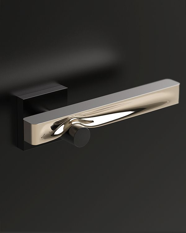 contemporary door handle - The Strong Hand by charlie nghiem, via Behance