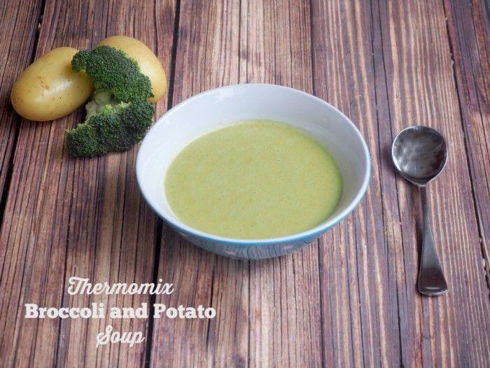 Meatless Monday - Thermomix Broccoli and Potato Soup