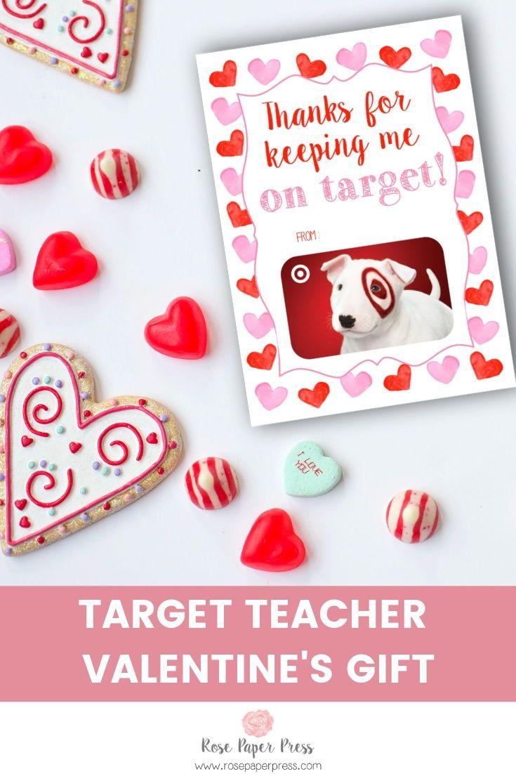 Target Valentine S Gift Card Holder In 2020 Teacher Valentine