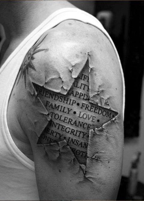 Sleeve Tattoo Ideas | ... : Half Sleeve Tattoos for Men - Edgy Half Sleeve Tattoo Design