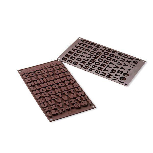 Moule chocolats ABC silicone zoom