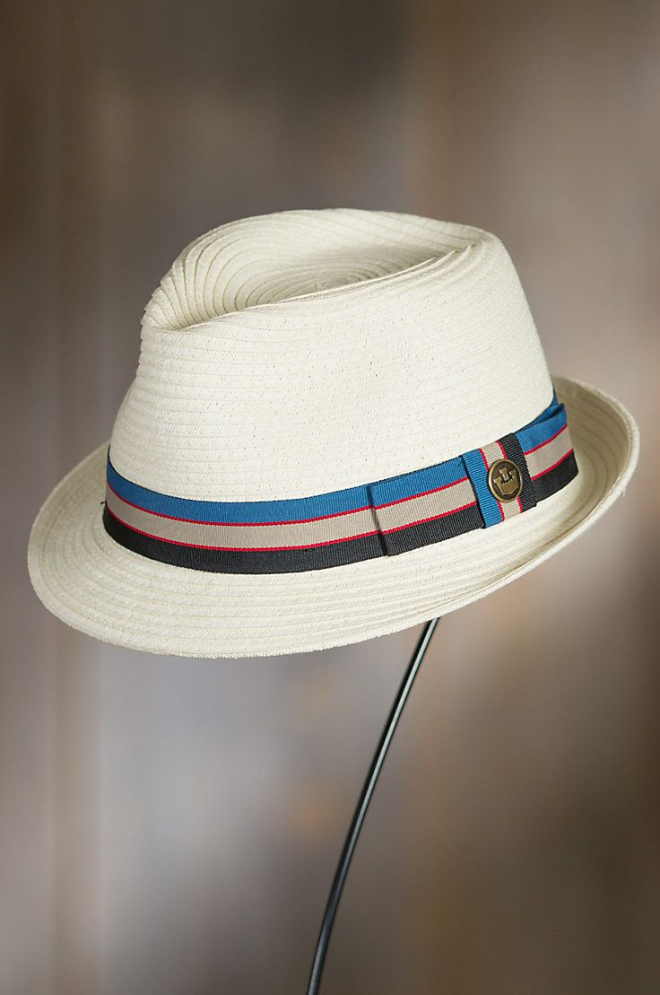 Buggy Whip Goorin Brothers Straw Fedora Hat