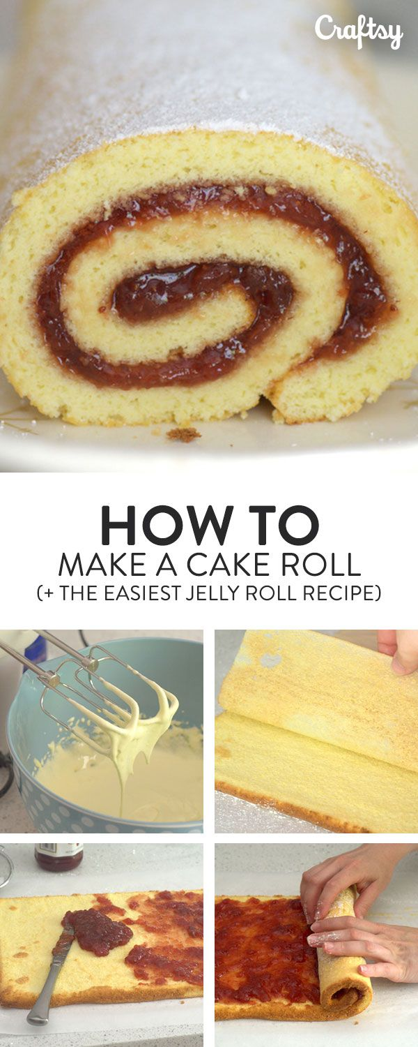 Cake rolls look intimidating, but their swirled center is easier to produce than you might imagine. Learn the basics of how to make a cake roll here.