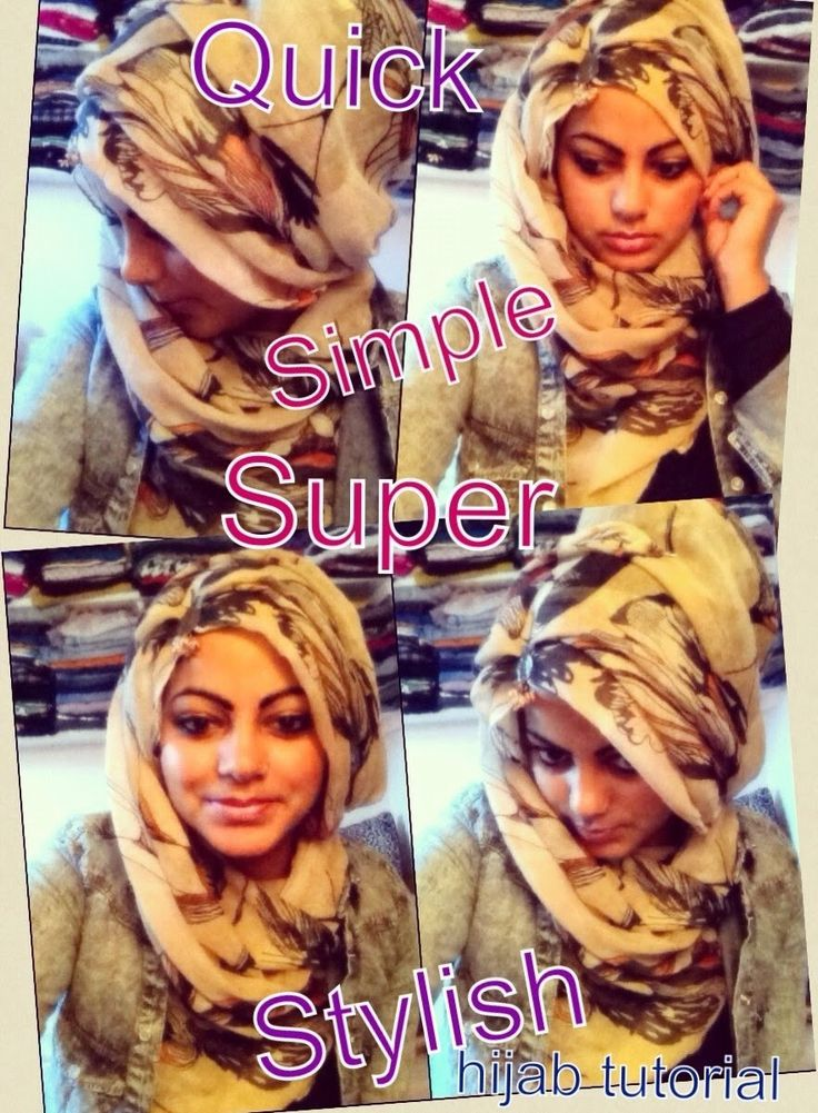 How to Wear a Headscarf: Quick, Simple & Super Stylish Hijab Tutorial!