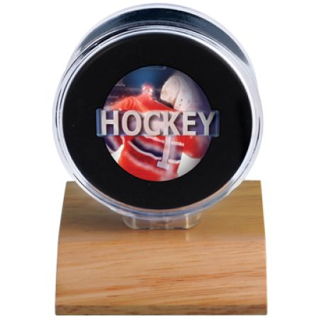 Check out our authentic collection of fan gears, souvenirs, memorabilia. Support the team you love! Free shipping for orders $99+    Check this link for more info:-https://www.indianmarketplace.net/hockey-puck-holder-wood-base/ #NFL #MLB #NBA #NCAA #NHL #UltraPro