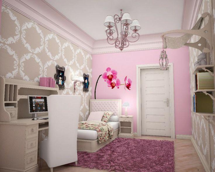 Bedroom, Teenage Bedroom Ideas In Modern Style: Teenage Girl Bedroom Ideas for Small Rooms