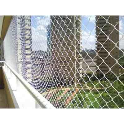 Rede Tela Proteção Janelas Varandas C/ Corda 15m2 - R$ 135,00 em Mercado Livre