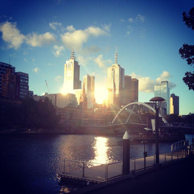 Beautiful city of Melbourne, Australia