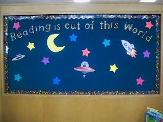 Space Bulletin Board - Read it again, mom!