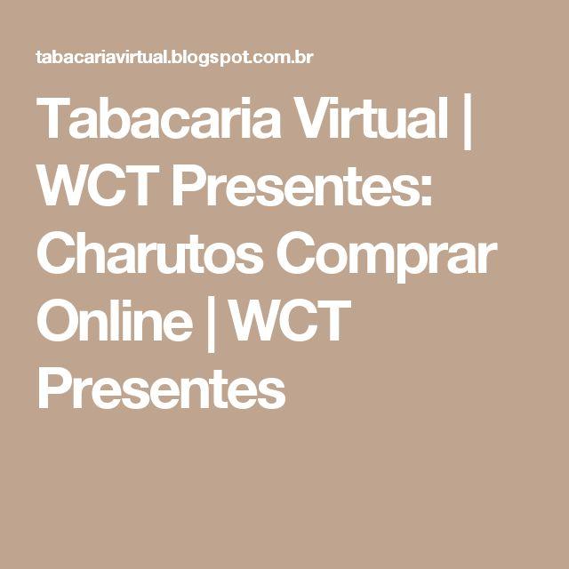 Tabacaria Virtual | WCT Presentes: Charutos Comprar Online | WCT Presentes