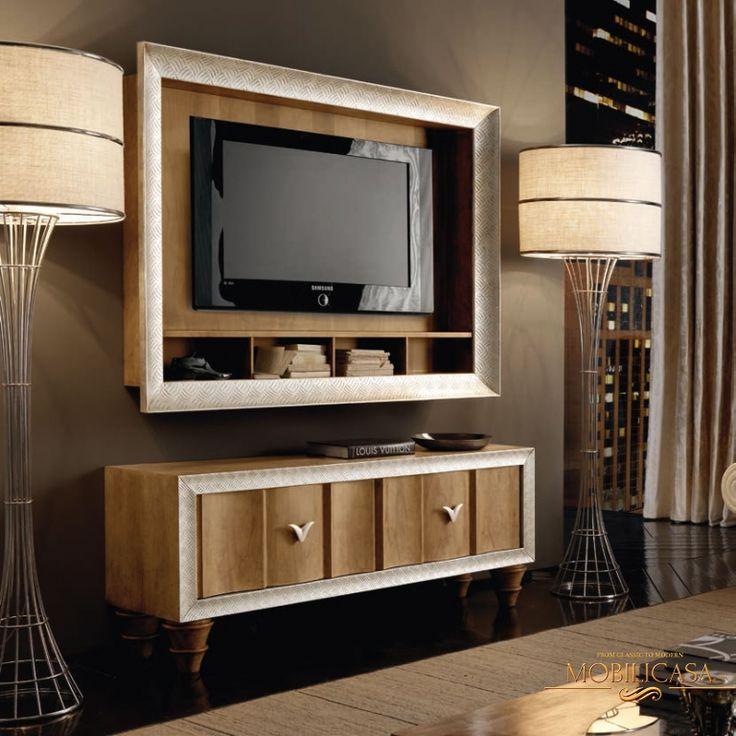 Итальянская мебель для ТВ Oikos фабрики VITTORIO GRIFONI