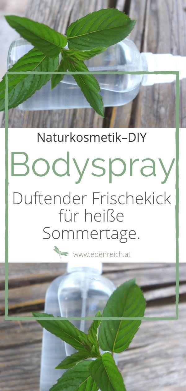 Verschiedene Grundrezepte für hausgemachtes Körperspray aus …   – Aromatherapie