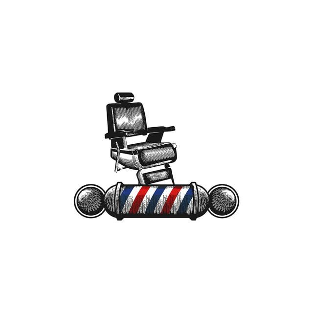Chair Barber Pole Barber Shop Logo Designs Inspiration Isolate Vector And Png Shop Logo Design Shop Logo Logo Design Inspiration