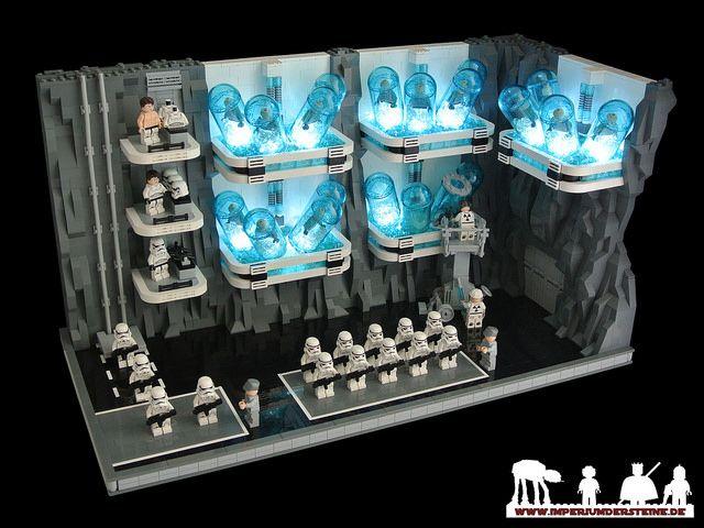 LEGO Star Wars MOC - Mount Tantiss: Cloning Chamber