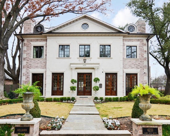 Traditional Exterior Design, Pictures, Remodel, Decor And Ideas   Page 24. Painted  Brick HousesWhite ...