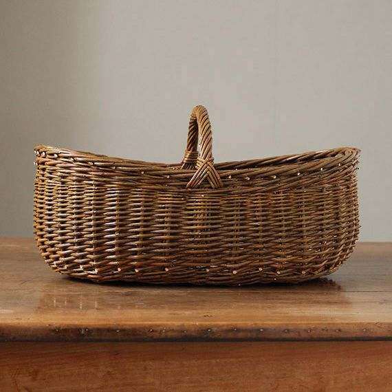 Francois oval willow basket - LisetteAccessories - Envelope is a unique online shopping mall made up of a few independent shops from all around Japan.